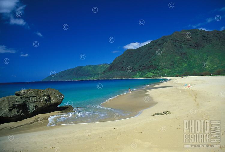 Makua beach, Leeward Oahu