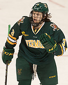 Mike Lee (UVM - 3) - The visiting University of Vermont Catamounts tied the Boston College Eagles 2-2 on Saturday, February 18, 2017, Boston College's senior night at Kelley Rink in Conte Forum in Chestnut Hill, Massachusetts.Vermont and BC tied 2-2 on Saturday, February 18, 2017, Boston College's senior night at Kelley Rink in Conte Forum in Chestnut Hill, Massachusetts.