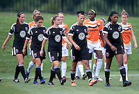 Lianne Sanderson, D.C. United.  The D.C. United Women defeated the Charlotte Lady Eagles, 3-0, to win the W-League Eastern Conference Championship.
