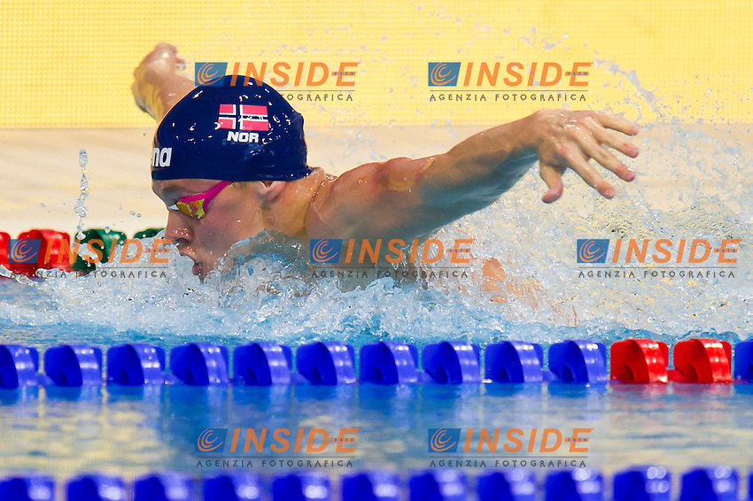JAKOBSSON Sindri Thor NOR<br /> London, Queen Elizabeth II Olympic Park Pool <br /> LEN 2016 European Aquatics Elite Championships <br /> Swimming<br /> Men's 200m butterfly preliminary  <br /> Day 10 18-05-2016<br /> Photo Giorgio Perottino/Deepbluemedia/Insidefoto