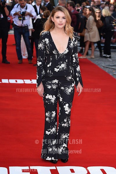 Hannah Murray at the premiere of &quot;Detroit&quot; at the Curzon Mayfair, London, UK. <br /> 16 August  2017<br /> Picture: Steve Vas/Featureflash/SilverHub 0208 004 5359 sales@silverhubmedia.com