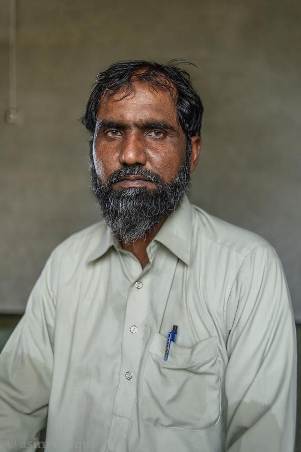 Liaqat Ali, Chak 30/2R. A member of the landless peasant movement.