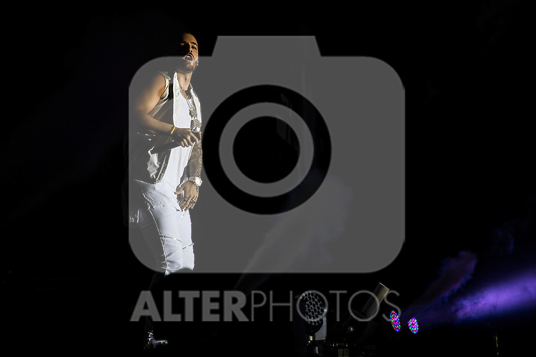 Maluma in concert at Barclays Center in Madrid. October 05, 2016. (ALTERPHOTOS/Rodrigo Jimenez)
