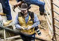 Competici&oacute;n de Rodeo, Espuelas Extremas en  (Centro de Usos Multiples)  3MAR2018 (Foto:Luis Gutierrez NortePhoto.com).<br /> <br /> <br /> pclaves: BullRider, Rodeo