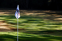 A general view of the 8th hole pin flag during previews ahead of the Magical Kenya Open presented by ABSA, Karen Country Club, Nairobi, Kenya. 13/03/2019<br /> Picture: Golffile | Phil Inglis<br /> <br /> <br /> All photo usage must carry mandatory copyright credit (&copy; Golffile | Phil Inglis)