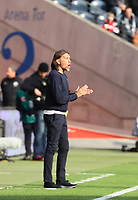 Trainer Martin Schmidt (FC Augsburg) - 14.04.2019: Eintracht Frankfurt vs. FC Augsburg, Commerzbank Arena, 29. Spieltag DISCLAIMER: DFL regulations prohibit any use of photographs as image sequences and/or quasi-video.