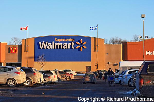 Walmart Supercenter in Joliette, Quebec
