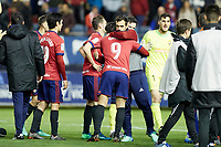 Quique Gonz&aacute;lez (forward; CA Osasuna) during the Spanish la League soccer match between CA Osasuna and Real Oviedo at Sadar stadium, in Pamplona, Spain, on Saturday, <br /> May 12, 2018.