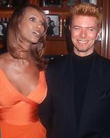 Iman David Bowie 1996<br /> Photo By John BarrettPHOTOlink.net