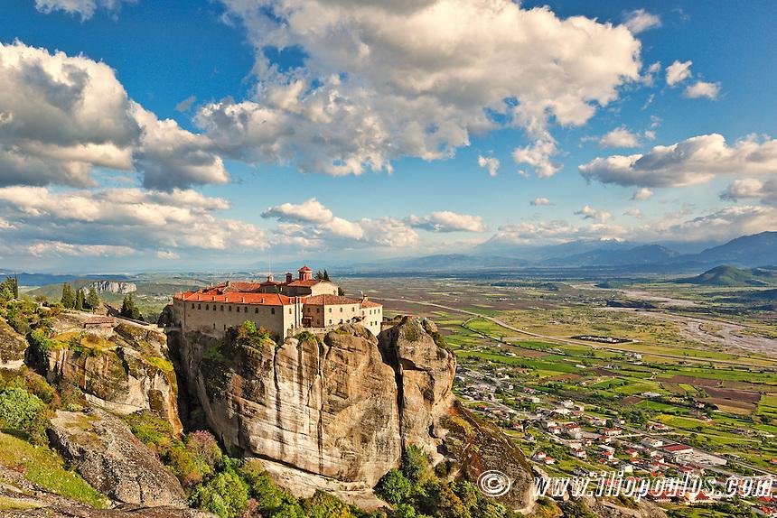 Agios Stephanos Monastery in the Meteora Monastery complex in Greece