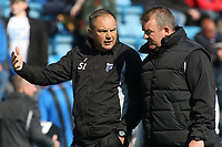 Gillingham Manager, Steve Lovell during Gillingham vs Shrewsbury Town, Sky Bet EFL League 1 Football at The Medway Priestfield Stadium on 13th April 2019