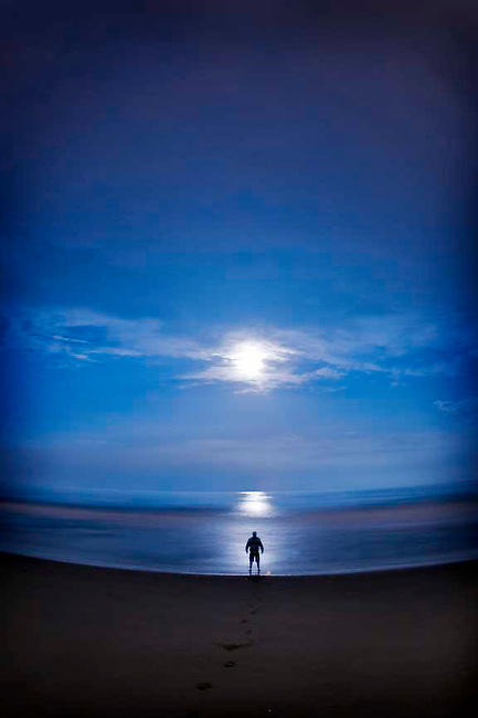 Lighting over Silverstrand Beach in Oxnard.8-14-08