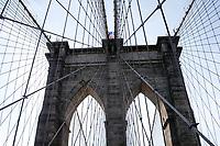 NOVA YORK, EUA, 14.03.2019 - NEW YORK-EUA - Vista da Ponte do Brooklyn em Nova York nos Estados Unidos. (Foto: Vanessa Carvalho/ Brazil Photo Press)