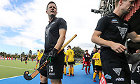 Shea McAleese. International Hockey, Blacksticks Men v Japan, TET Multisport Centre, Stratford, New Zealand. Saturday 12 October 2019. Photo: Simon Watts/www.bwmedia.co.nz/HockeyNZ