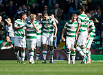 Celtic v St Johnstone...29.08.15  SPFL   Celtic Park<br /> Tomas Rogic celebrates his goal that made it 2-1<br /> Picture by Graeme Hart.<br /> Copyright Perthshire Picture Agency<br /> Tel: 01738 623350  Mobile: 07990 594431