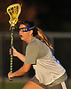 Katie Meinecke #22 of New York Institute of Technology carries downfield during women's lacrosse team practice on NYIT's campus in Old Westbury on Wednesday, Oct. 19, 2016.