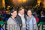 Yvonne and Breda Enright with Eileen Horan from Moyvane pictured in Athea for a special variety show last Sunday evening.