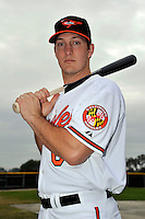 Feb 27, 2010; Tampa, FL, USA; Baltimore Orioles  catcher Craig Tatum (65) during  photoday at Ed Smith Stadium. Mandatory Credit: Tomasso De Rosa