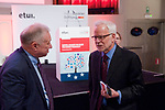 Brussels-Belgium - April 27, 2017 -- European Dialogue 2017 'EUROPE: REWRITE THE RULES FOR SHARED PROSPERITY', organized by Hans Boeckler Foundation in conjunction with the European Trade Union Institute / ETUI, at Albert Hall; here, Gustav Horn, Scientific Director, Macroeconomic Policy Institute, Hans-Boeckler-Foundation; with Barry Eichengreen, Professor of Economics and Political Sciences, University of California, Berkeley -- Photo © HorstWagner.eu