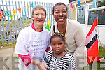 Anne McKenzie, Gladys Amazu and Queeneth Amazu at the opening of Tralee International Resource Centre. .