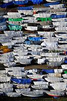 Winterlager: EUROPA, DEUTSCHLAND, HAMBURG, SCHLESWIG- HOLSTEIN, WEDEL (EUROPE, GERMANY), 28.01.2011: Wedel, Yachthafen, Segel, Boot, Boote, Winterlager, Abstellen, abgestellt, ruhe, warten, Herbst, Winter, Saison, Ueberholung, Wartung, Verpackung, Plane, <br />c o p y r i g h t : A U F W I N D - L U F T B I L D E R . de<br />G e r t r u d - B a e u m e r - S t i e g 1 0 2, <br />2 1 0 3 5 H a m b u r g , G e r m a n y<br />P h o n e + 4 9 (0) 1 7 1 - 6 8 6 6 0 6 9 <br />E m a i l H w e i 1 @ a o l . c o m<br />w w w . a u f w i n d - l u f t b i l d e r . d e<br />K o n t o : P o s t b a n k H a m b u r g <br />B l z : 2 0 0 1 0 0 2 0 <br />K o n t o : 5 8 3 6 5 7 2 0 9<br />V e r o e f f e n t l i c h u n g  n u r  m i t  H o n o r a r  n a c h M F M, N a m e n s n e n n u n g  u n d B e l e g e x e m p l a r !
