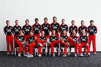 PICTURE BY VAUGHN RIDLEY/SWPIX.COM - Cricket - County Championship - Lancashire County Cricket Club 2012 Media Day - Old Trafford, Manchester, England - 03/04/12 - The Lancashire CCC players gather in The Point for the 2012 photo call.  New Balance sponsor.