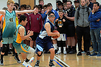Action from the AIMS basketball at ASB Baypark Arena in Mount Maunganui, New Zealand on Thursday, 13 September 2018. Photo: Dave Lintott / lintottphoto.co.nz