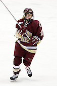 Shannon Webster (Boston College - 12) - The Boston College Eagles defeated the Northeastern University Huskies 3-1 in the opening round of the Beanpot on Tuesday, February 3, 2009, at Matthews Arena in Boston, Massachusetts.