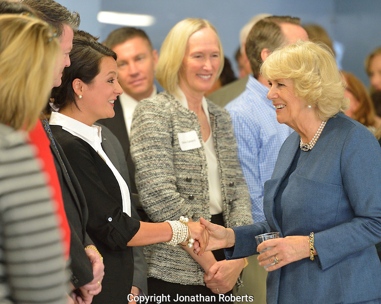 The Duchess of Cornwall, Camilla Parker Bowles, visits Neighborhood House in Louisville, Ky.