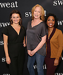Alison Wright, Johanna Day and Michelle Wilson attend the photocall for the Broadway cast of 'Sweat'  at The New 42nd Street Studios on 2/16/2017 in New York City.