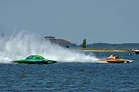 "Brandon Kennedy, GP-25 ""EMS Survivor"", Marty Wolfe, GP-93 ""Renegade""  (Grand Prix Hydroplane(s)"