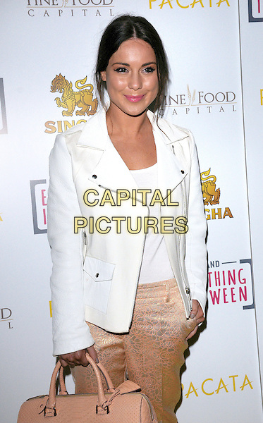 LONDON, ENGLAND - MARCH 28: Louise Thompson attends the Pacata Restaurant VIP Launch, Covent Garden, on  March 28, 2014 in London, England<br /> CAP/MB/PP<br /> &copy;Michael Ball/PP/Capital Pictures