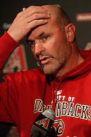 manager Kirk Gibson de Diamondback