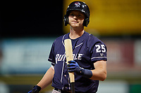 Binghamton Rumble Ponies Will Toffey (25) at bat during an Eastern League game against the Richmond Flying Squirrels on May 29, 2019 at The Diamond in Richmond, Virginia.  Binghamton defeated Richmond 9-5 in ten innings.  (Mike Janes/Four Seam Images)