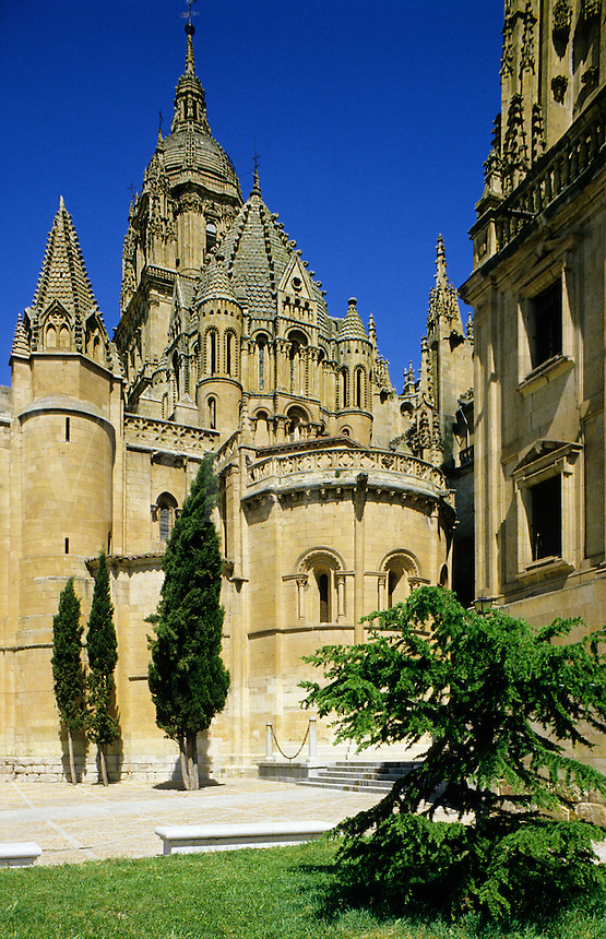 Spain. Salamanca. The old Cathedral. 12th Century Romanesque.