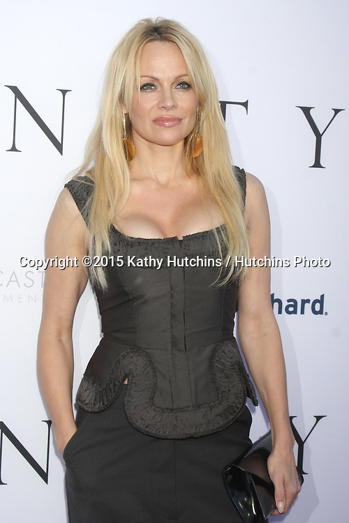 "LOS ANGELES - JUN 24:  Pamela Anderson at the ""Unity"" Documentary World Premeire at the Director's Guild of America on June 24, 2015 in Los Angeles, CA"