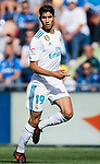 Achraf Hakimi of Real Madrid reacts during the La Liga 2017-18 match between Getafe CF and Real Madrid at Coliseum Alfonso Perez on 14 October 2017 in Getafe, Spain. Photo by Diego Gonzalez / Power Sport Images