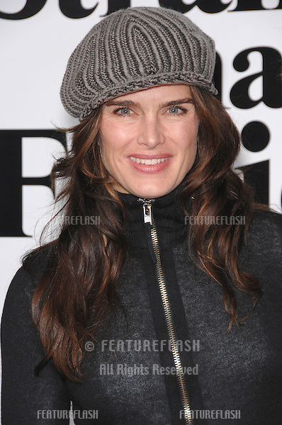 """BROOKE SHIELDS at the Los Angeles premiere of """"Stranger than Fiction""""..October 30, 2006  Los Angeles, CA.Picture: Paul Smith / Featureflash"""