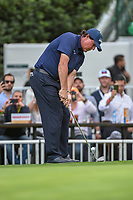 Phil Mickelson (USA) chips on to 16 during round 2 of the World Golf Championships, Mexico, Club De Golf Chapultepec, Mexico City, Mexico. 2/22/2019.<br /> Picture: Golffile | Ken Murray<br /> <br /> <br /> All photo usage must carry mandatory copyright credit (&copy; Golffile | Ken Murray)