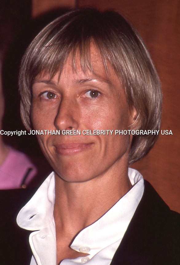 Martina Navratilova 1992 by Jonathan <br /> Green