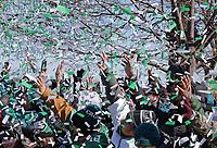Super Bowl LII - Philadelphia Eagles Super Bowl Parade on February 8, 2018 in Philadelphia, Pennsylvania. (Photo by Hunter Martin/Philadelphia Eagles)