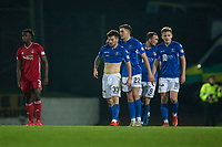 24th November 2019; McDairmid Park, Perth, Perth and Kinross, Scotland; Scottish Premiership Football, St Johnstone versus Aberdeen; Matthew Kennedy of St Johnstone is congratulated after scoring for 1-1 by Callum Hendry - Editorial Use