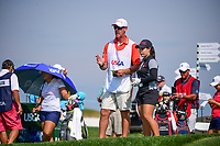 Moriya Jutanugarn (THA) looks over her tee shot on 16 during Thursday's first round of the 72nd U.S. Women's Open Championship, at Trump National Golf Club, Bedminster, New Jersey. 7/13/2017.<br /> Picture: Golffile | Ken Murray<br /> <br /> <br /> All photo usage must carry mandatory copyright credit (&copy; Golffile | Ken Murray)