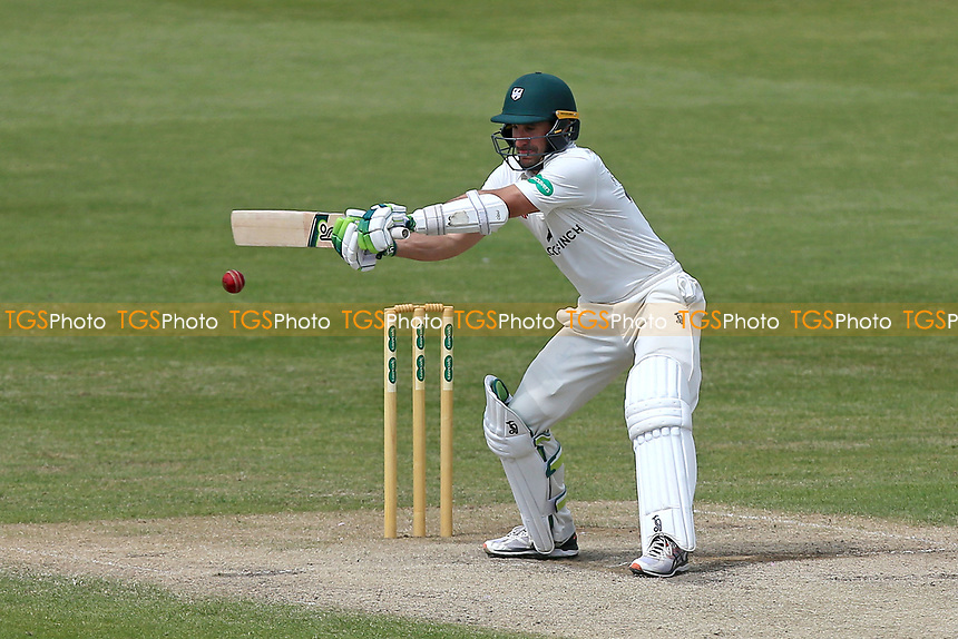 Daryl Mitchell in batting action for Worcestershire during Worcestershire CCC vs Essex CCC, Specsavers County Championship Division 1 Cricket at New Road on 13th May 2018
