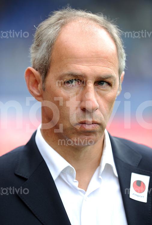 FUSSBALL   2. BUNDESLIGA   SAISON 2011/2012   1. SPIELTAG Eintracht Braunschweig - 1860 Muenchen    17.07.2011 Trainer Reiner MAURER (1860 Muenchen)