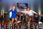 Liam Colleran and Aoife Doran performing their winning tango at the Irish Cancer Society Strictly Come Dancing in the INEC on Friday night