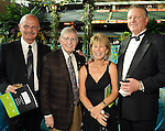 From left: Logan Goosdon and Milo Hamilton with Judy and Larry Dierker at the annual Astros Wives Gala at Minute Maid Park Thursday Aug. 12,2010.(Dave Rossman/For the Chronicle)
