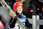 HOLMENKOLLEN, OSLO, NORWAY - March 17: Katharina Althaus of Germany (GER) during the Ladies FIS Ski Jumping World Cup from the large hill HS 134 Holmenkollbakken on March 17, 2013 in Oslo, Norway. (Photo by Dirk Markgraf)