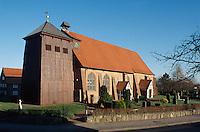 Deutschland, Niedersachsen, Ates Land, St. Bartholomeus in Mittelnkirchen