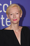 Tilda Swinton arrives at the Film at Lincoln Center's 50th Anniversary Gala on Monday April 29, 2019; in Alice Tully Hall at 1941 Broadway in New York, NY.